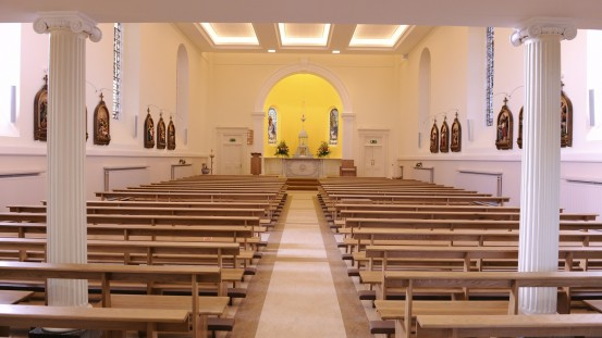 Interior of St Joseph's Church