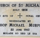 Commemorative Plaque in St Michael's Church