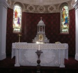 The Sanctuary in St Joseph's Church before Renovation