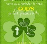 Mass times for St Patrick's Day
