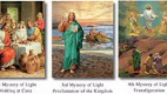 Month of the Rosary – the Luminous mysteries
