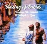 Annual blessing of babies ceremony
