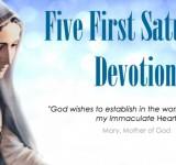 First Saturday devotions