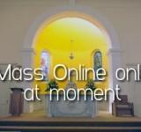 Mass times (online)